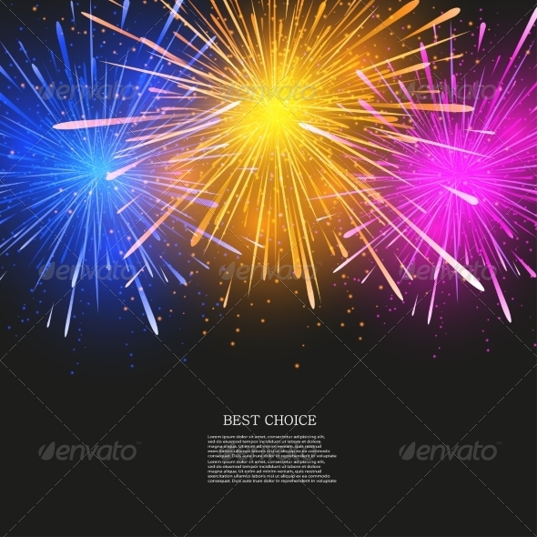 Fireworks Flyer Template Free