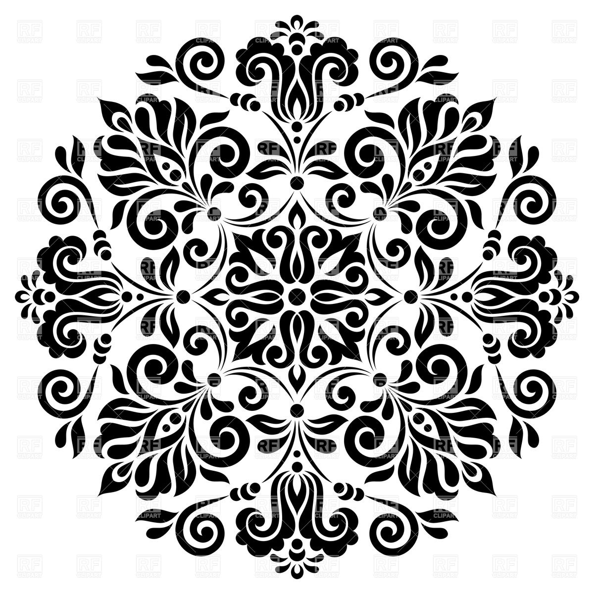 Floral Pattern Vector Free Download