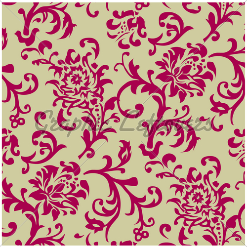 19 Repeating Pattern Vector Flower Images