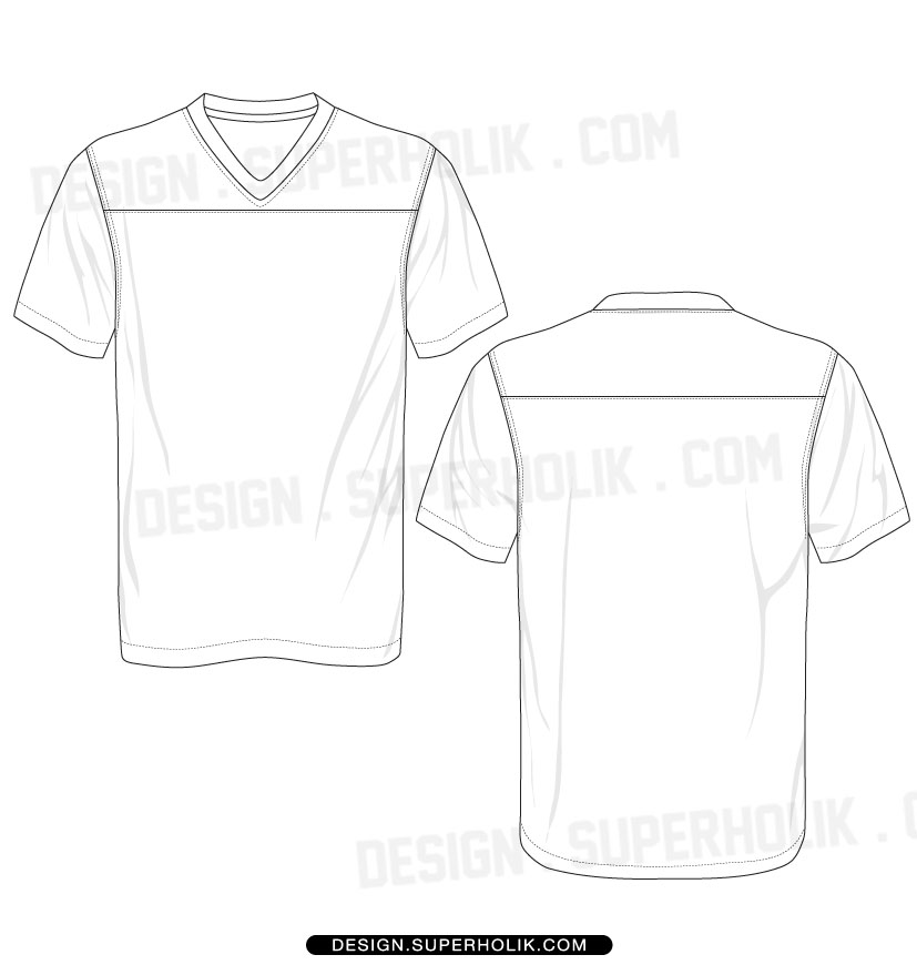 14 Soccer Shirt Vector Template Images