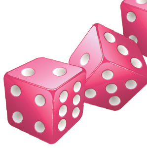 Free Bunco Dice Clip Art