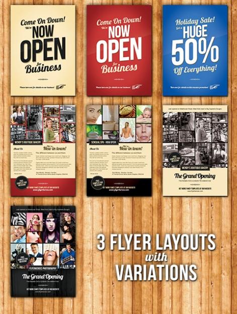 Photoshop business flyer templates choice image template design 17 free business brochure templates psd images business flyer wajeb Images