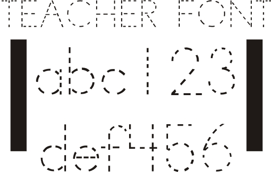 10 free colorful fonts for teachers images free outline fonts for teachers printable bulletin. Black Bedroom Furniture Sets. Home Design Ideas
