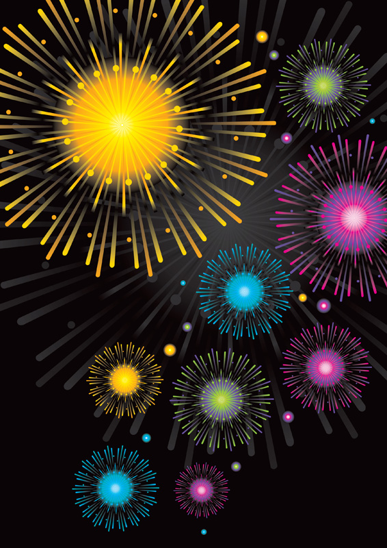 Free Fireworks PowerPoint Template