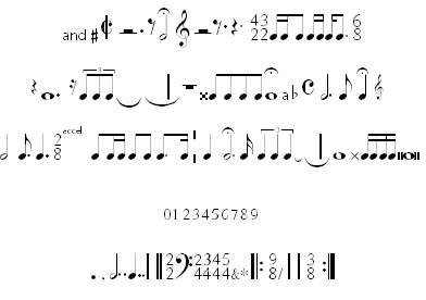 11 Free Music Fonts Images