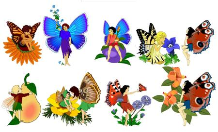 Free Printable Fairies Clip Art