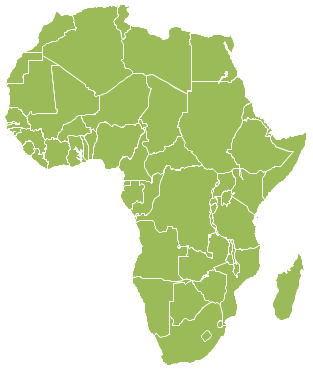 8 Africa Map Vector Images
