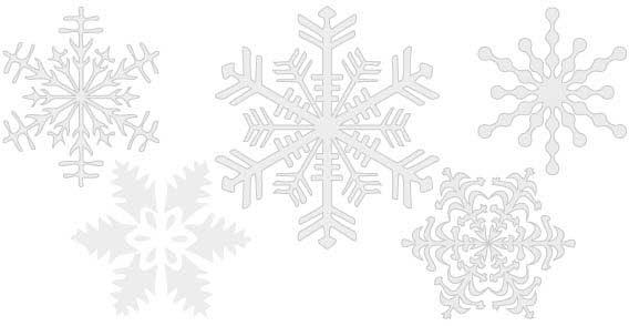 10 Snowflake Vector Free Download Images