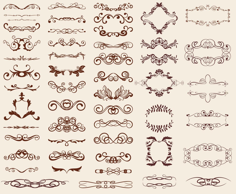 17 Free Vintage Design Elements Images