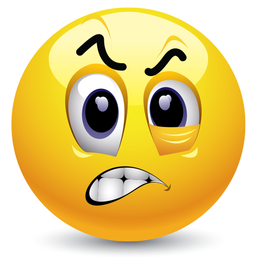 9 Frustrated Emoticons Animated Images
