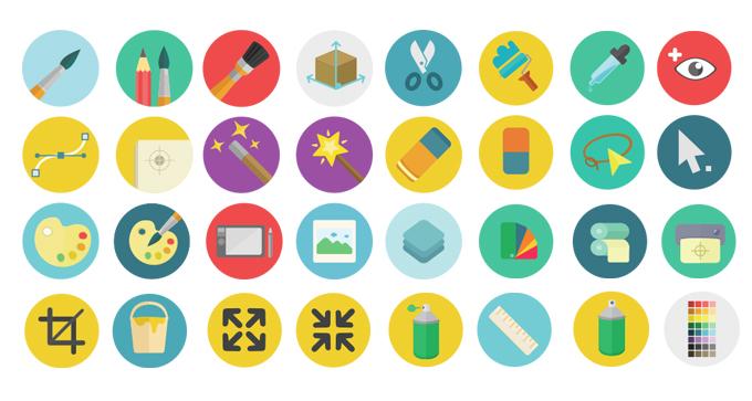 14 Graphic Design Equipment Icons Images