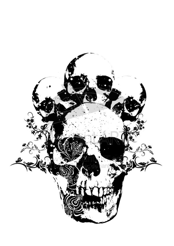14 Skull Graphic Designs Images