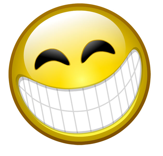 15 Excited Smiley-Face Emoticon Images