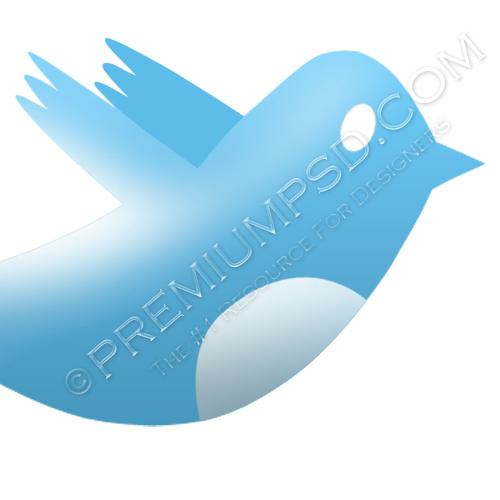 High Resolution Twitter Bird Logo