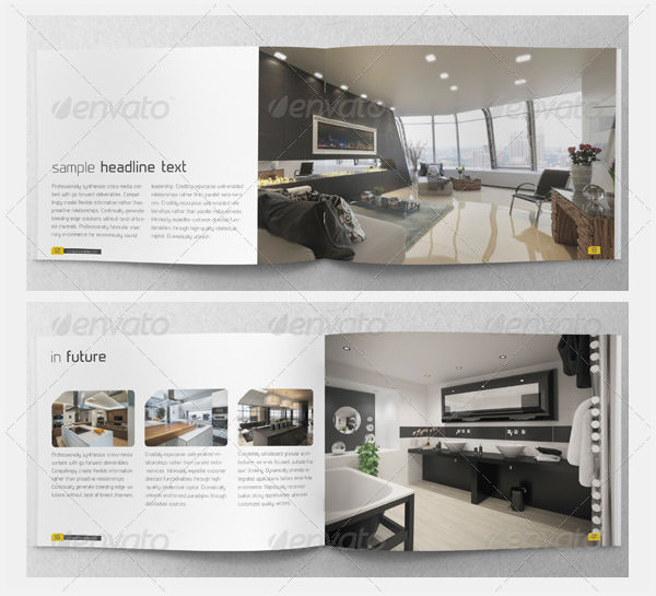 Interior Design Brochure Templates Images  TriFold Brochure