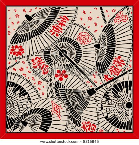 10 Vector Japanese Umbrella Images