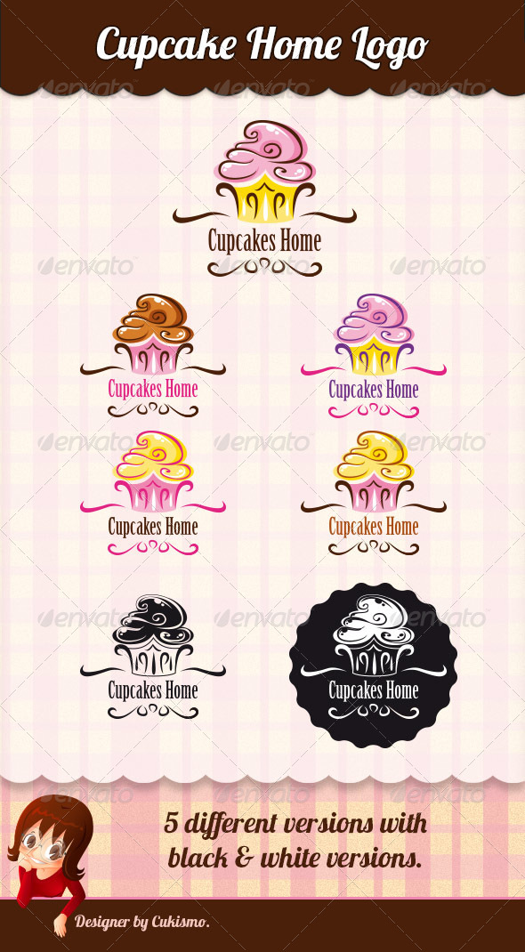 Logo Cupcake Template