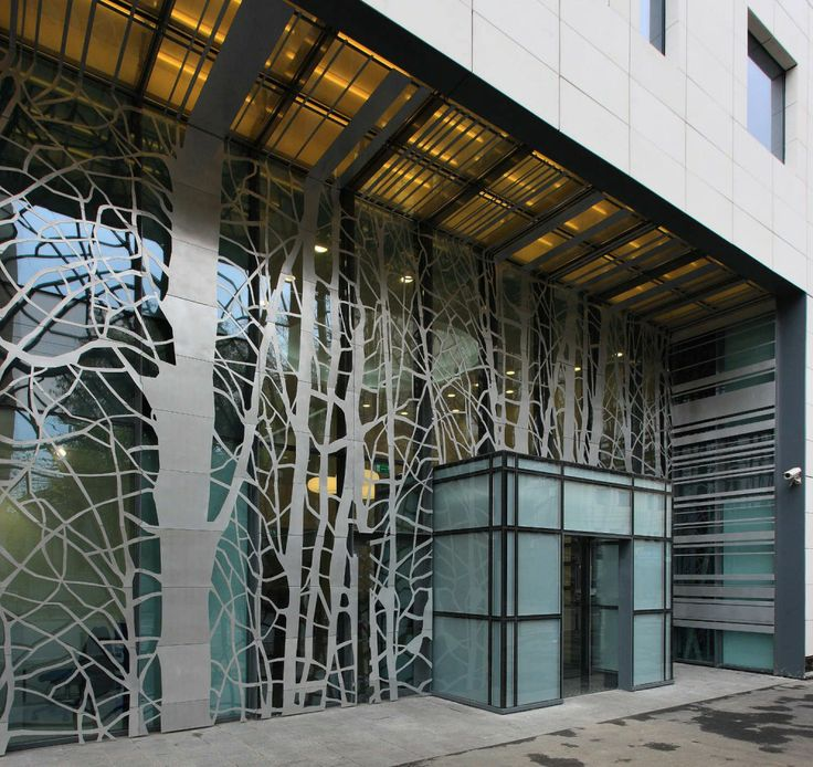 Metal Screen Facades Architecture