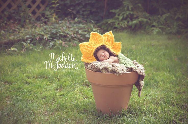 Newborn Baby Girl Photography Ideas