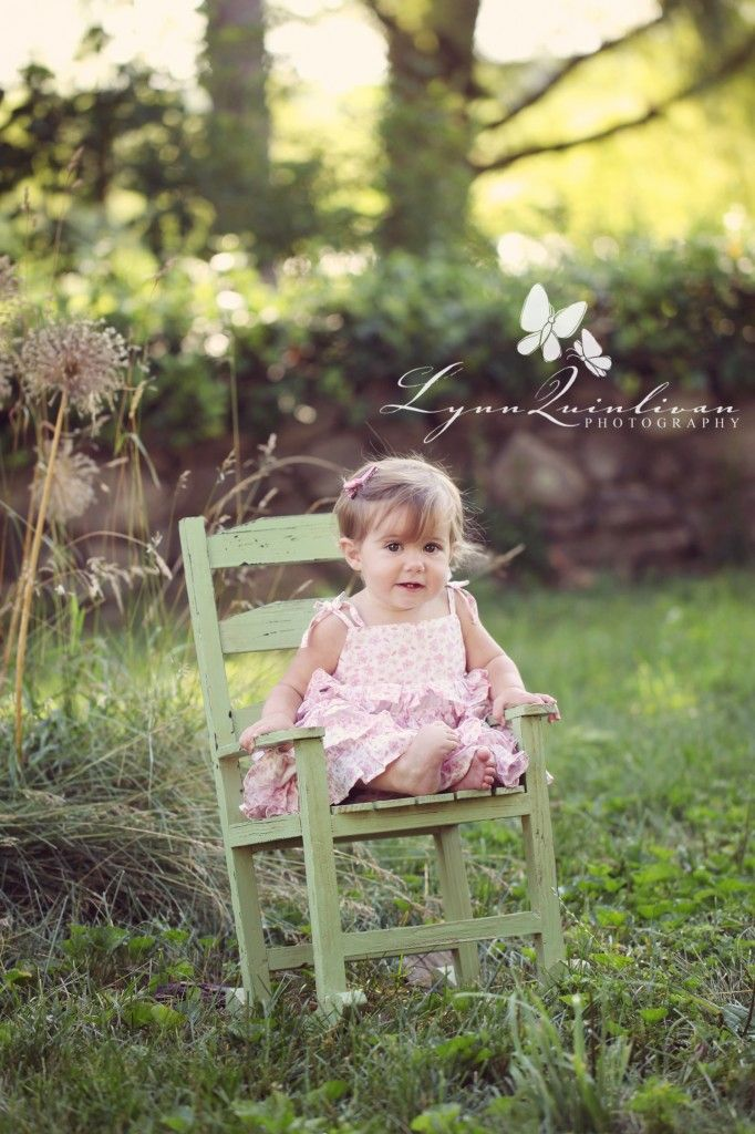 One Year Old Baby Girl Photography