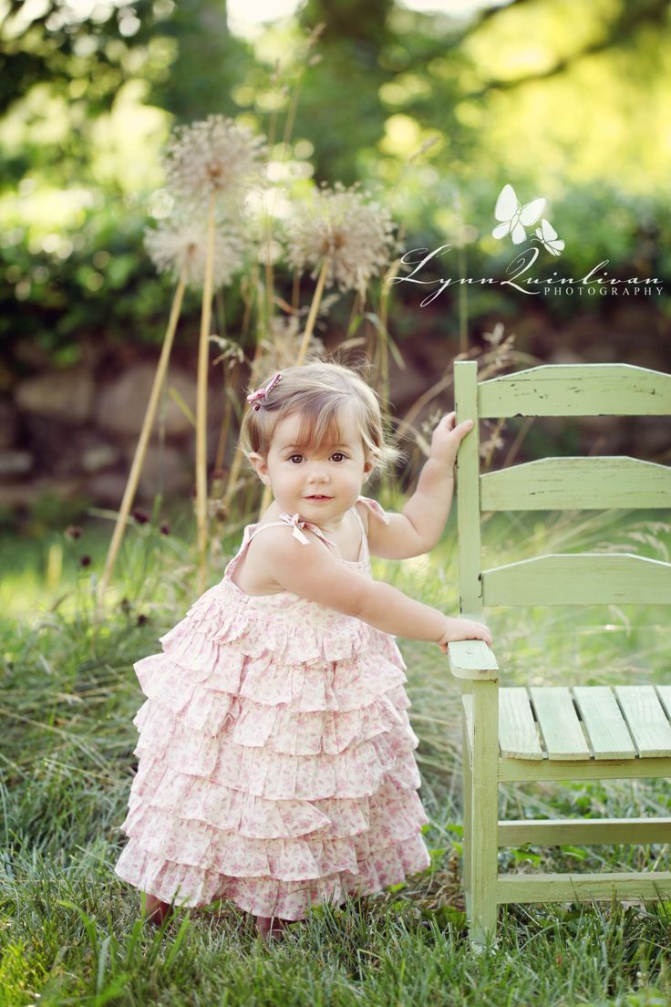 One Year Old Girl Picture Ideas