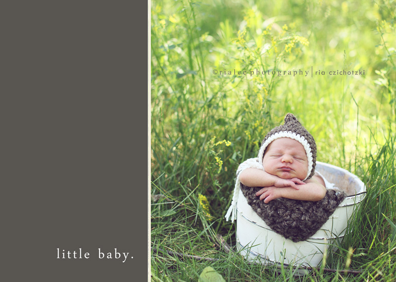 Outdoor Newborn Photo Ideas