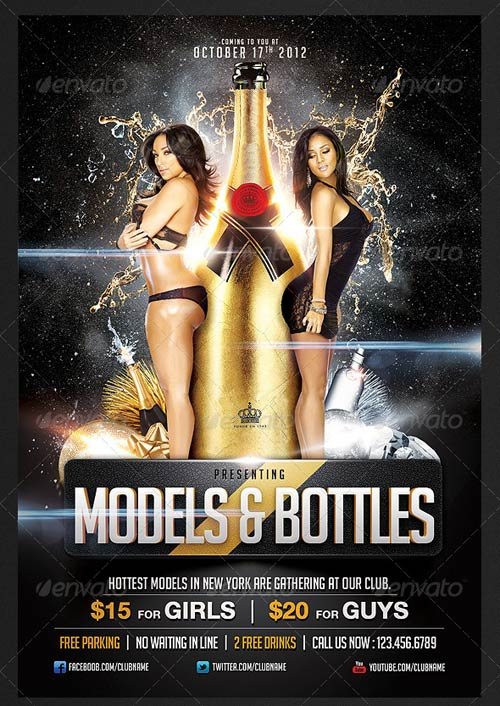 Party Flyer Models