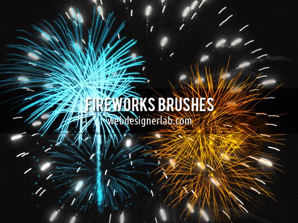 Photoshop Fireworks Brushes