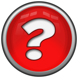 5 Red Question Mark Icon Images