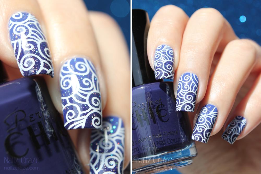 14 Royal Blue Nail Designs 2014 Images