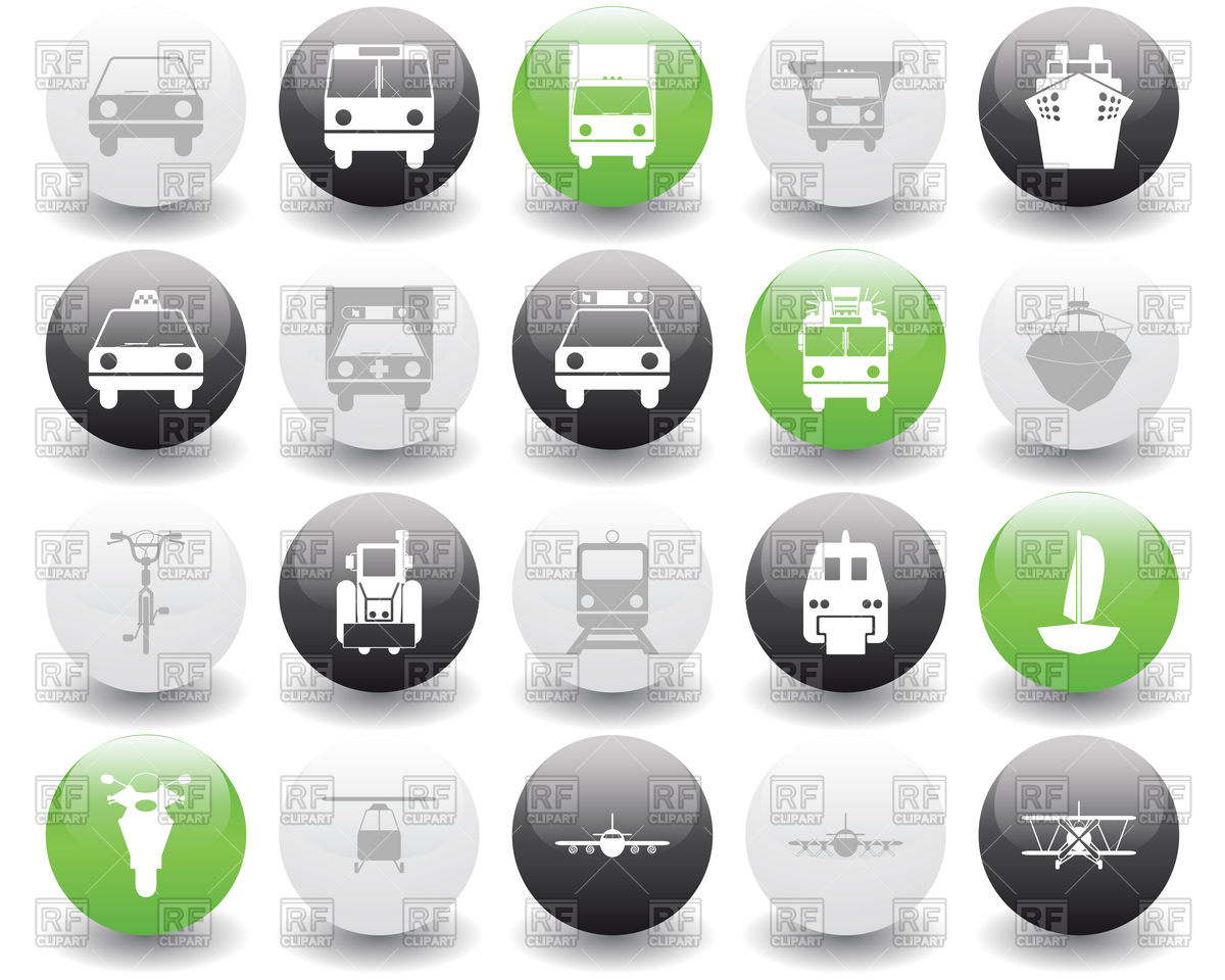 Royalty Free Transportation Icon