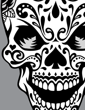 10 Sugar Skull Vector Images