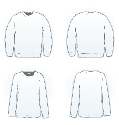 Hooded Vector T Shirt Template » Hooded Sweater Template Vector ...