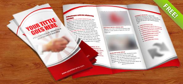 Tri-Fold Brochure Template PSD