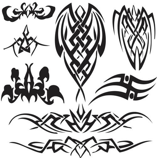 14 free vector tribal frame images cool tribal page borders vector tribal elements tattoo and. Black Bedroom Furniture Sets. Home Design Ideas