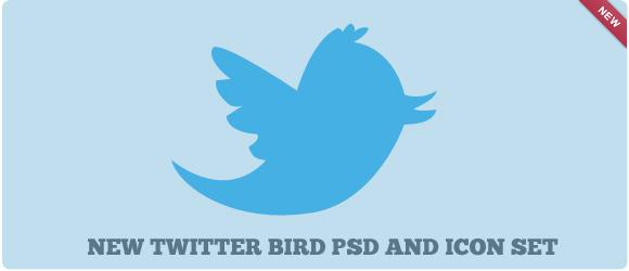 Twitter Bird PSD