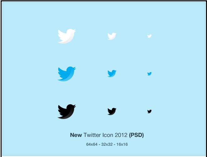 Twitter Icon 16X16
