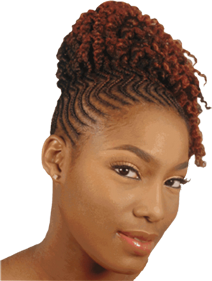 Updo Hairstyles for Black Women Natural Hair