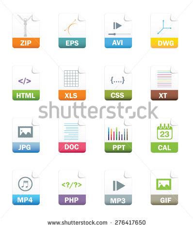 Vector art file types