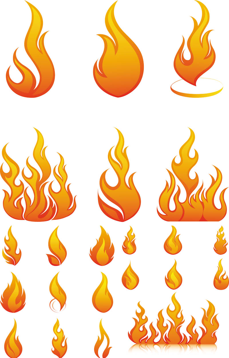13 Photos of Flame Designs Clip Art