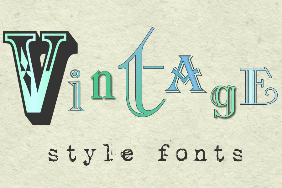 Vintage Christmas Fonts