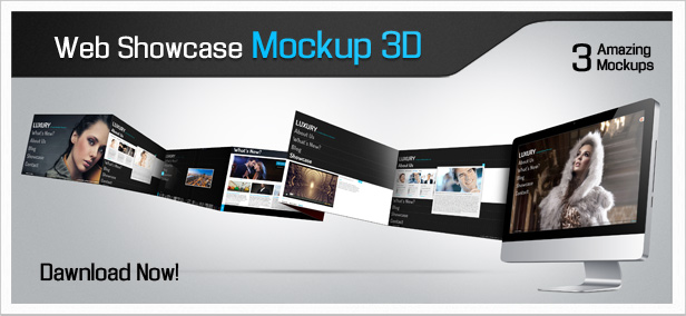 17 Website Mockup PSD Images