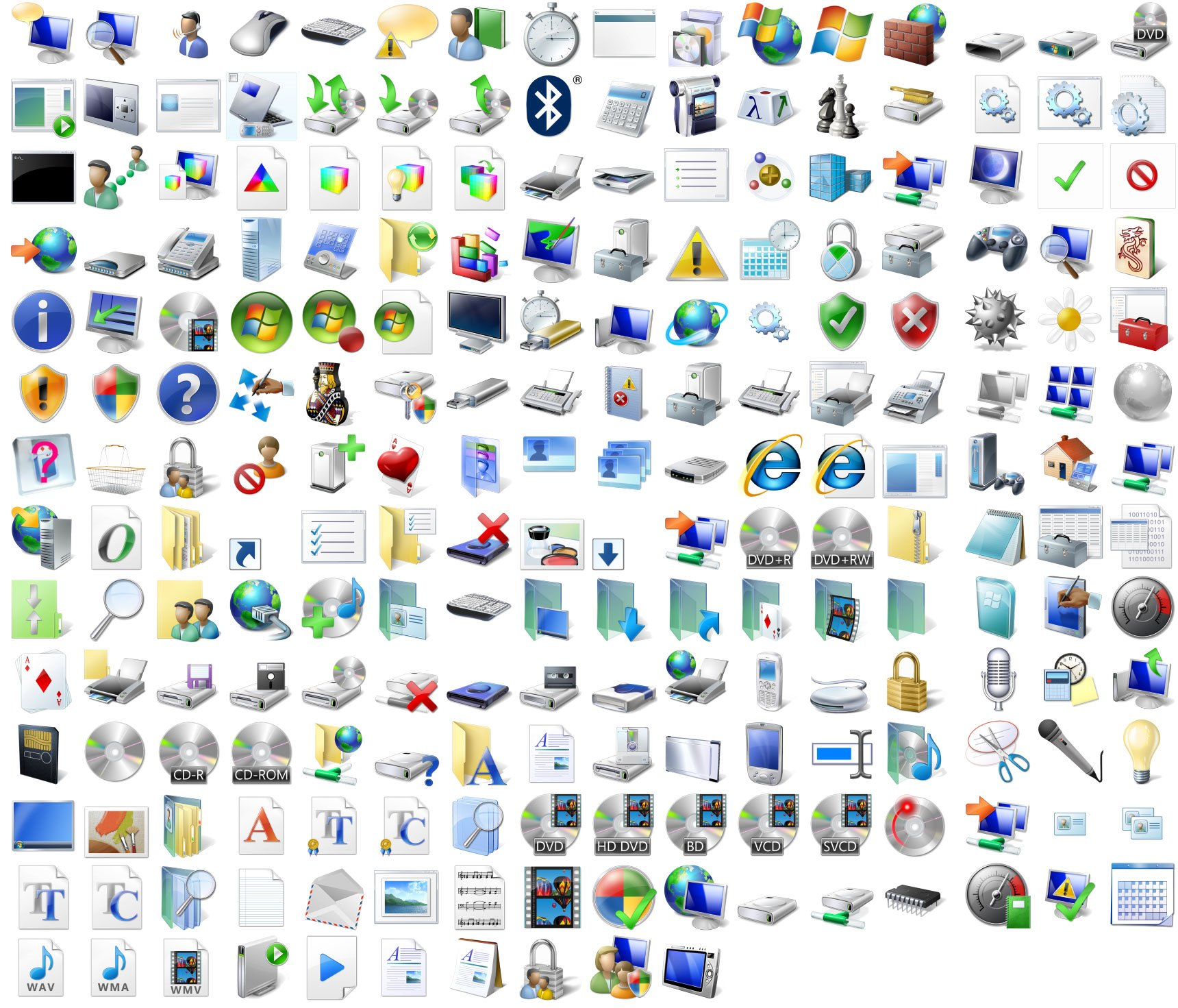 10 system32 icon files images file extension icon