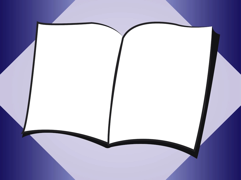 15 Blank Book Graphics Images