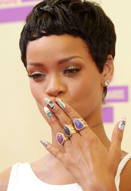 10 Celebrity Nail Designs Images