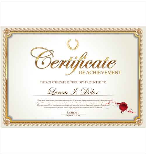 13 certificates frame psd free in images free for Certificate frame template