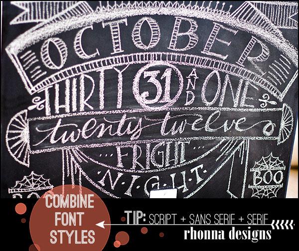 Chalkboard Font Ideas