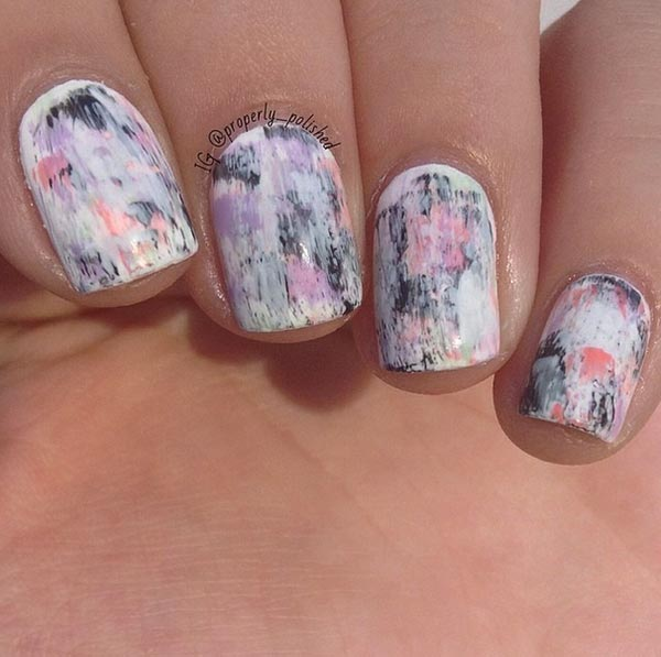 Classy Pink Nail Art Designs