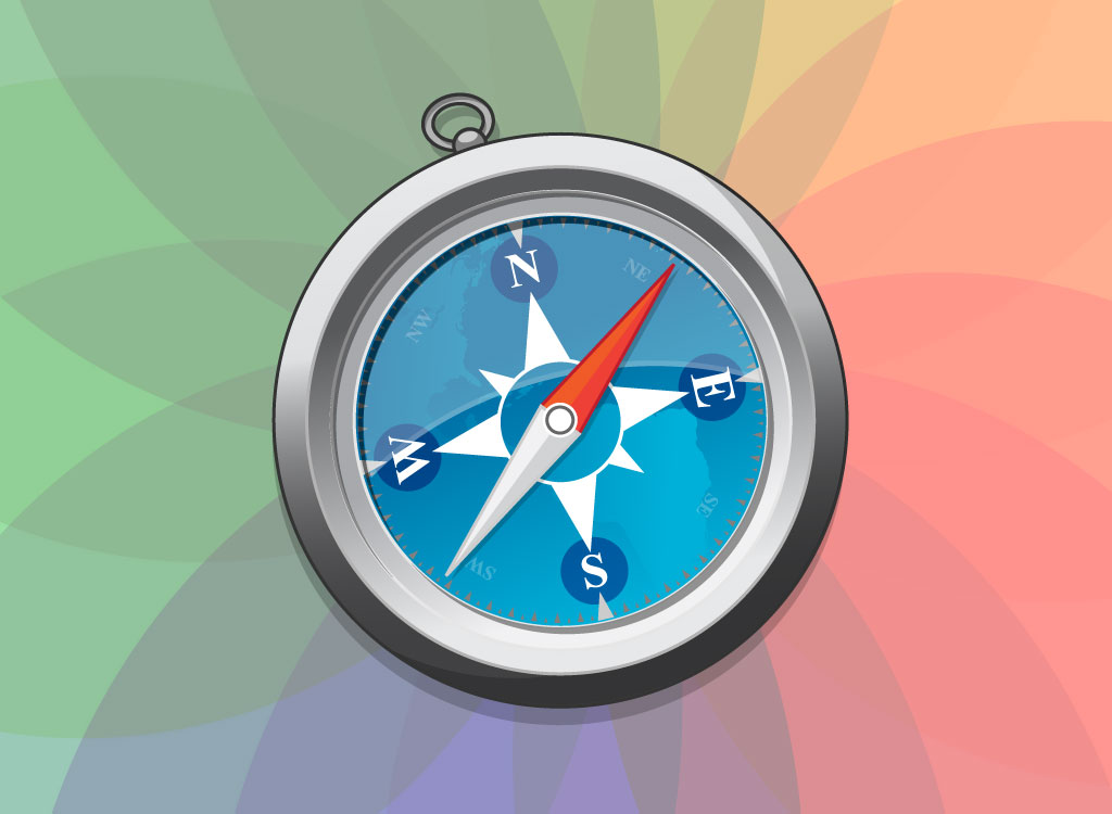 11 Apple Compass Icons Images