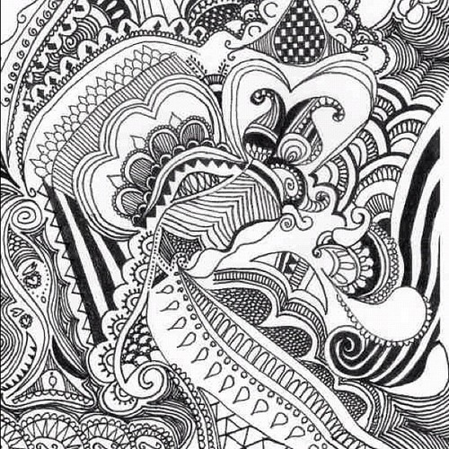 Black and white patterns to draw for Cool designs in black and white